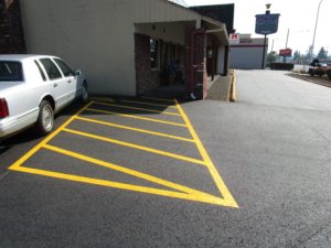 Come check out our newly paved parking lot!